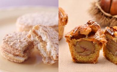 G4-09 高級フランス菓子16区の絶品「ダックワーズ&マロンパイ」セット