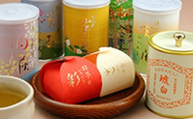 [№5712-0031]狭山茶バラエティーセット・オリジナル缶詰とお菓子の詰合せ