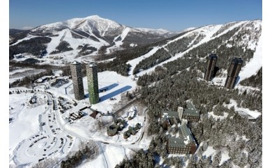 星野リゾートトマム スキー場ファミリープレミアムパス(大人1、小学生1)