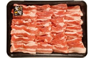 Qf-02 しまんと米豚焼き肉セット【着日指定必須】