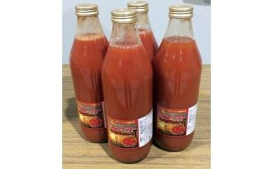 B-6 ミニトマトそのまんまのジュース(1,000ml)4本セット