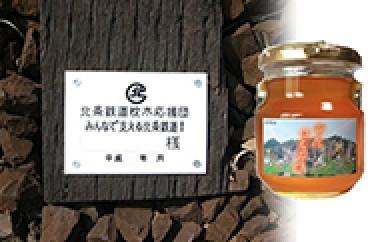 [№5698-0034]枕木応援団と加西産 百花はちみつ