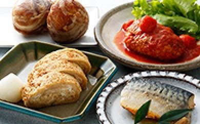 [№5702-0014]みやじ豚の豚むすと人気の惣菜セット