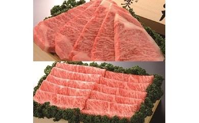 【E-3】佐賀牛(ロースステーキ用200×5枚)+(ローススライス500g×2箱)