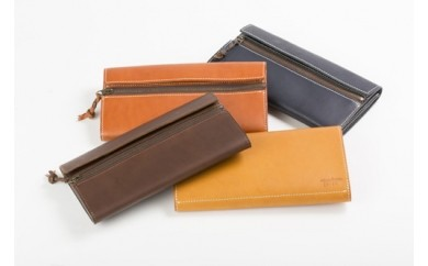 【C-001】tanikoオリジナル財布(キャメル)