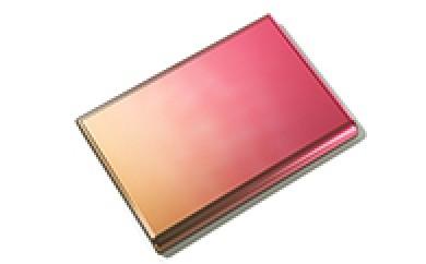 [№5630-0084]「すみだモダン」ornament Card Case (名刺入れ) Brown×Red