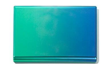 [№5630-0089]「すみだモダン」ornament Card Case (名刺入れ) Green×Blue
