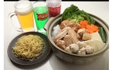 (A-22)むかばき地鶏特製地鶏鍋セット