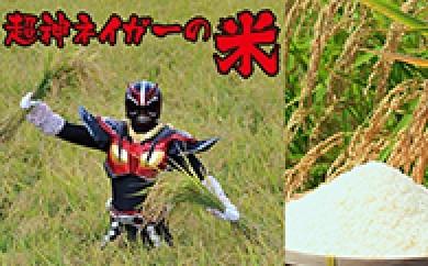 [№5685-0057]#田ウェーイww 超神ネイガーの米 あきたこまち 真空パック 5kg