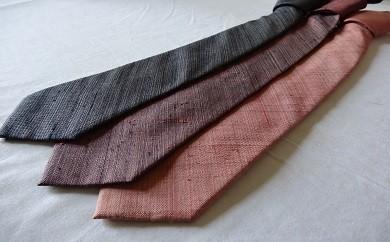 004-017 手織り 絹ネクタイ