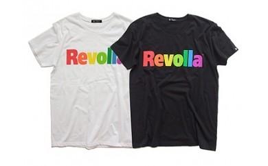1-091 RevollaレインボーロゴTシャツ