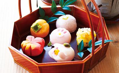 [№5674-0136]日本の四季を味わう ぜいたく和菓子セット