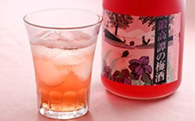 [№5723-0038]鍛高譚(たんたかたん)の梅酒720ml 8本セット