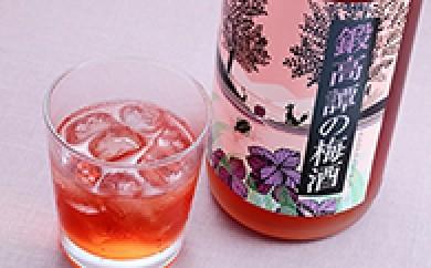 [№5723-0040]鍛高譚(たんたかたん)の梅酒1800ml 4本セット