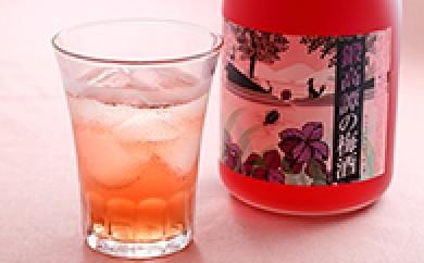 [№5723-0034]鍛高譚(たんたかたん)の梅酒720ml 4本セット