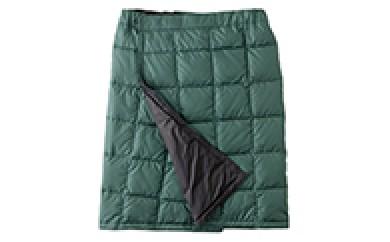 [№5694-0040]NANGA マウンテンスカート(ダークグリーン×ブラック) Lサイズ