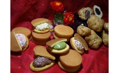 [A-13] 季節の餅パイ&季節のどら焼き