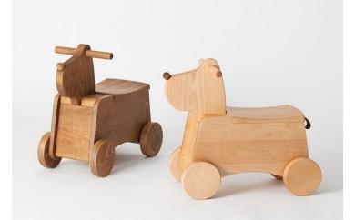 11M-0002  Korobox(ブラウン) 【国産材で安全安心の木のおもちゃ】