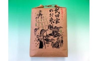 B-21 武田家のお米 滝沢産きらほ(玄米)10kg