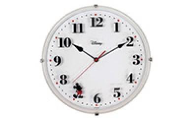[№5748-0002]ナカザワオリジナル ディズニー掛時計(ホワイト)