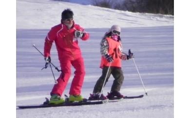 【0001007】スキースノーボードマンツーマンレッスン