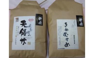 A055 大田市産お米食べ比べセット(平成29年産)(合計5kg)