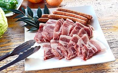 Ad-01 平野協同畜産の焼き肉セット(豚ロース肉&ウインナー)