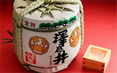 [№5714-0010]澤乃井 豆樽(純米吟醸蒼天)
