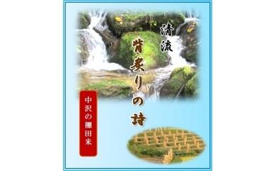 012-D01 【中沢の棚田米】 「コシヒカリ」10kg
