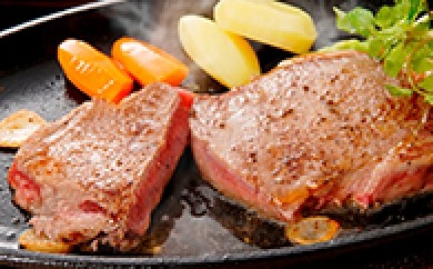 [№5749-0045]北海道十勝産A3等級十勝和牛2枚と野菜のセット