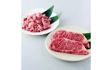 【数量限定・お二人様セット(毎火曜日発送)】 上州牛サーロイン と 上州麦豚セット