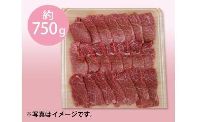 No.020 飛騨牛モモ又はカタ肉 焼肉用 750g