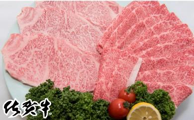 G-5 最高級ブランド銘柄「佐賀牛」しゃぶしゃぶ・すき焼き用800g&ロースステーキ200gx3枚