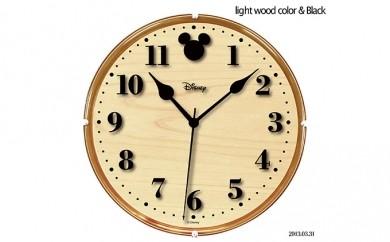 [№5748-0045]ナカザワオリジナル ディズニー掛時計(ベージュ)