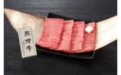 T087 熊野牛 焼肉食べ比べ【200pt】