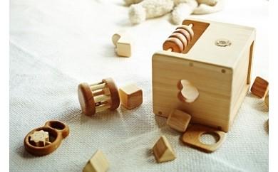 10-(5)赤ちゃんのおもちゃ星セット(箱入り)