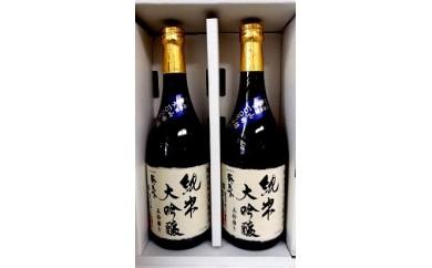 98 掛川産地酒 葵天下「純米大吟醸」720ml×2本(ギフト箱入)