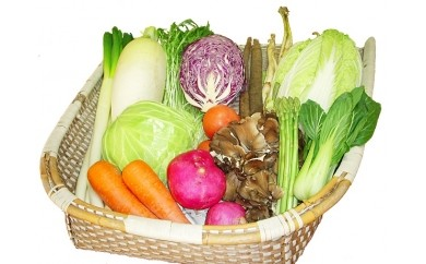 【A32】能代の恵み「地場野菜・果物・山菜」などの季節の詰合せ