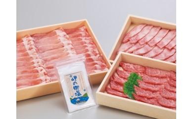 №131-30あしきた牛焼肉、りんどうポークセット
