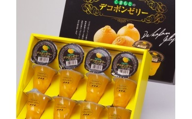 №21-10くまもとのデコポンゼリー(12個入)【お中元対応商品】