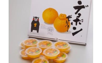 №22-10デコポンゼリー(12個入)【お中元対応商品】