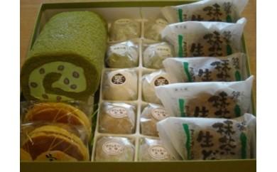 A-214 宇治抹茶ロールケーキ等セット