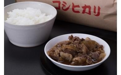 A133.コシヒカリ・和牛牛丼セット