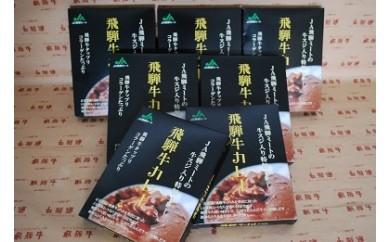 A067 飛騨牛カレー7食セット