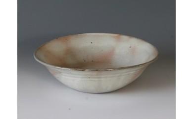 A104 粉引 楕円平鉢