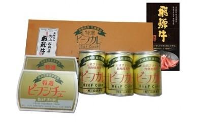A069 山武商店特製ビーフカレー&ビーフシチューセット
