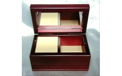 001-018 < 18弁オルゴール > 木製宝石箱