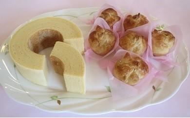 1-47 日進名物 桜もちパイ&本生バームクーヘン