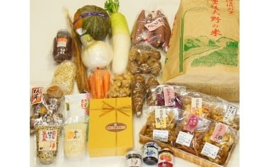 No.070 道の駅みえ 農産品と加工品いろいろセット