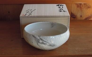 C-3 粉引丸鉢(桐箱入)